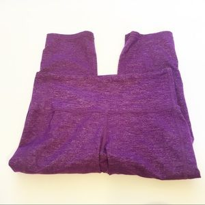 Athleta Pants - Athleta Cropped Capri purple leggings size XS